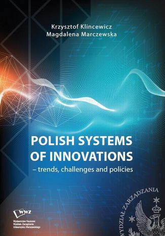 Okładka książki Polish systems of innovations  trends, challenges and policies