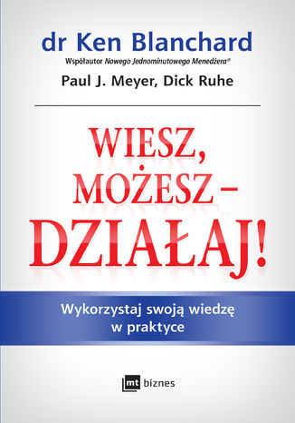 Okładka książki/ebooka Wiesz, możesz - działaj!