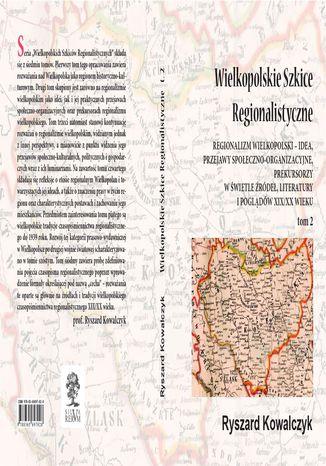 Okładka książki/ebooka WIELKOPOLSKIE SZKICE REGIONALISTYCZNE t. 2