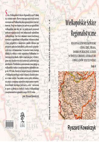 Okładka książki WIELKOPOLSKIE SZKICE REGIONALISTYCZNE t. 4