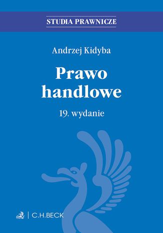 Okładka książki/ebooka Prawo handlowe. Wydanie 19