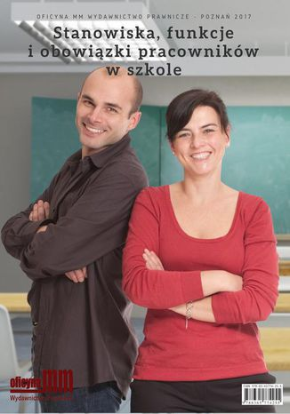 Okładka książki Stanowiska, funkcje i obowiązki pracowników w szkole