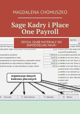 Okładka książki/ebooka Sage Kadry i Płace One Payroll