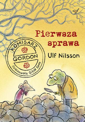 Okładka książki Komisarz Gordon. Pierwsza sprawa