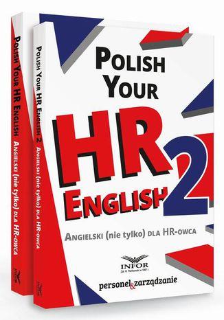 Okładka książki Polish your HR English. Angielski (nie tylko) dla HR-owca-PAKIET częć I i II