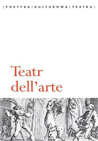 Okładka książki Teatr dell'arte