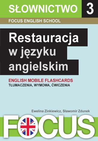 Okładka książki/ebooka Restauracja w języku angielskim