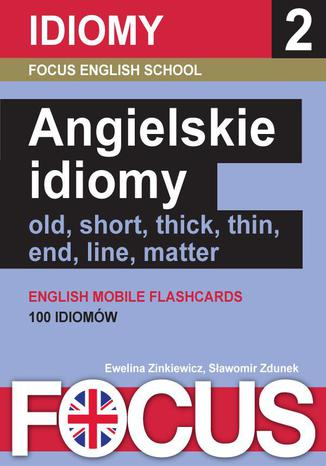 Okładka książki/ebooka Angielskie idiomy. Zestaw 2