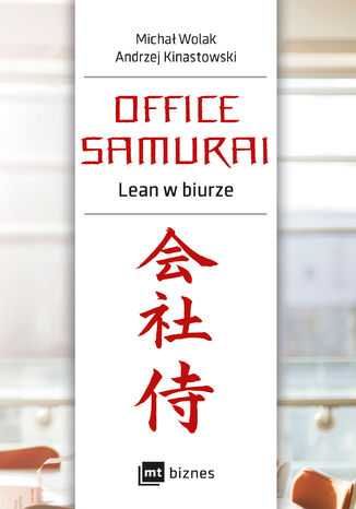 Okładka książki/ebooka Office Samurai: Lean w biurze