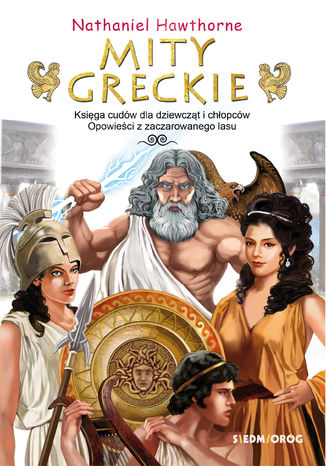 Okładka książki Mity greckie Księga cudów i Opowieści z zaczarowanego lasu