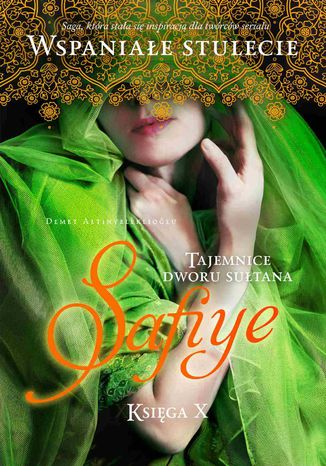 Okładka książki Tajemnice dworu sułtana. Safiye. Księga 10