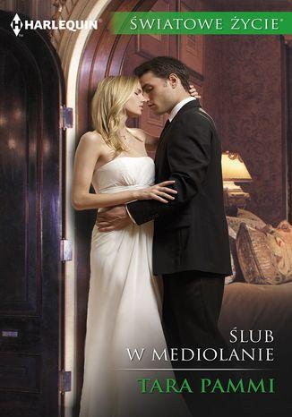 Okładka książki Ślub w Mediolanie