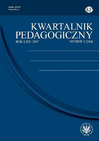 Okładka książki/ebooka Kwartalnik Pedagogiczny 2017/2 (244)