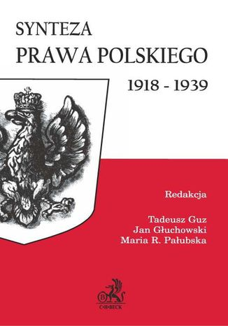 Okładka książki Synteza prawa polskiego 1918-1939
