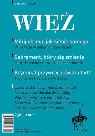 Okładka książki Więź 4/2017