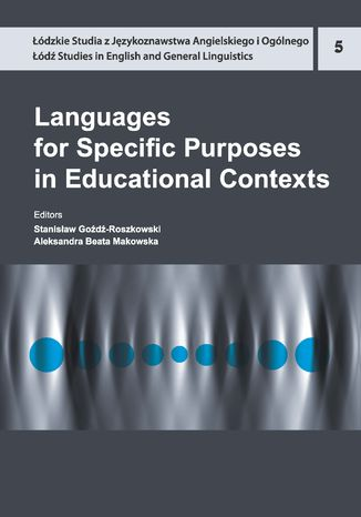 Okładka książki Languages for Specific Purposes in Educational Contexts