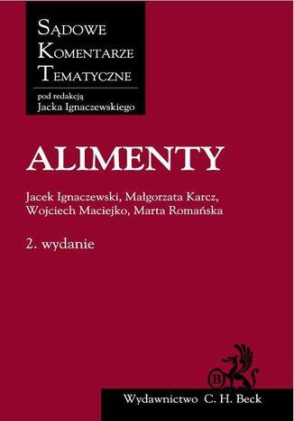 Okładka książki Alimenty