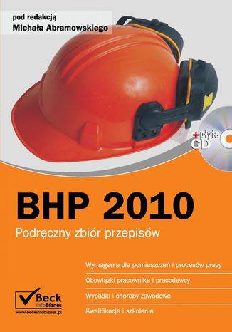Okładka książki/ebooka BHP 2010