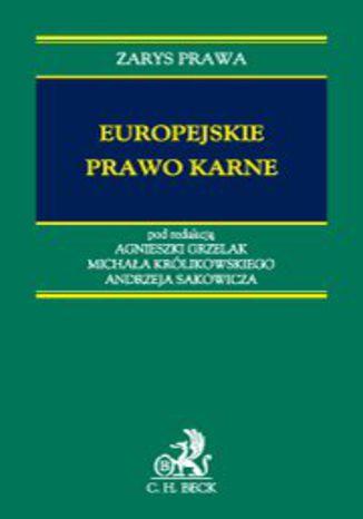 Okładka książki/ebooka Europejskie prawo karne