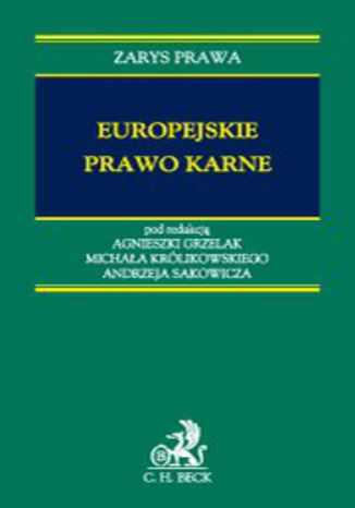 Okładka książki Europejskie prawo karne