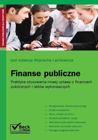 Okładka książki Finanse publiczne