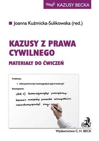 Okładka książki/ebooka Kazusy z prawa cywilnego. Materiały do ćwiczeń