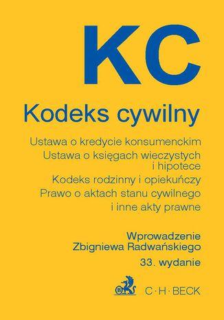 Okładka książki Kodeks cywilny