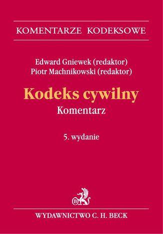 Okładka książki/ebooka Kodeks cywilny. Komentarz