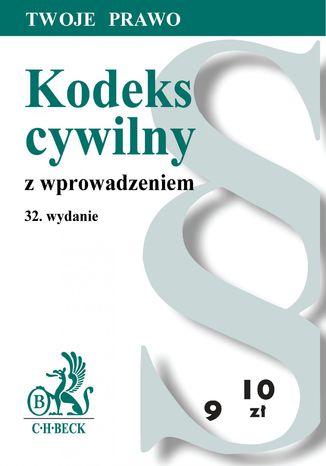 Okładka książki/ebooka Kodeks cywilny z wprowadzeniem
