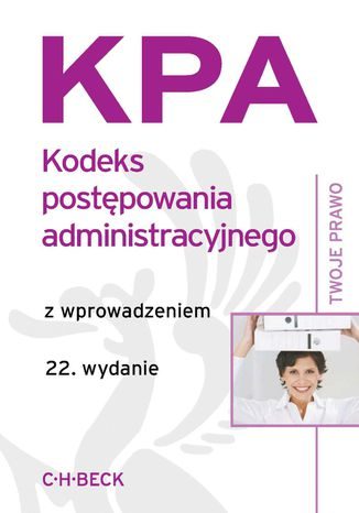 Okładka książki/ebooka Kodeks postępowania administracyjnego z wprowadzeniem