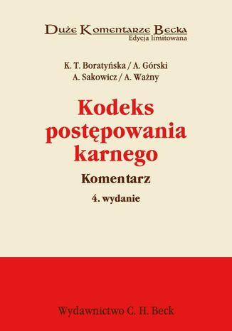 Okładka książki Kodeks postępowania karnego. Komentarz