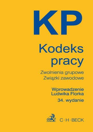 Okładka książki Kodeks pracy