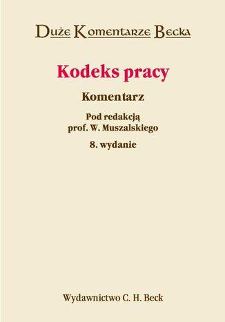 Okładka książki/ebooka Kodeks pracy. Komentarz