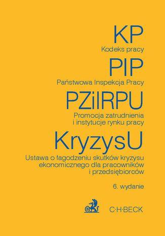 Okładka książki/ebooka Kodeks pracy Państwowa Inspekcja Pracy Promocja zatrudnienia i instytucje rynku pracy Ustawa o łagodzeniu skutków kryzysu ekonomicznego dla pracowników i przedsiębiorców