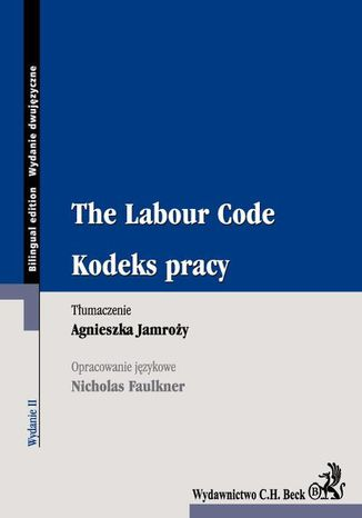 Ebook Kodeks pracy. The Labour Code