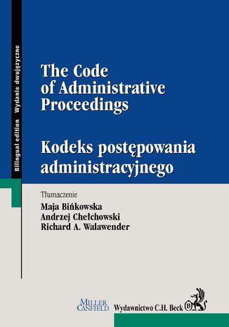 Okładka książki KPA / The Code of Administrative Procedure