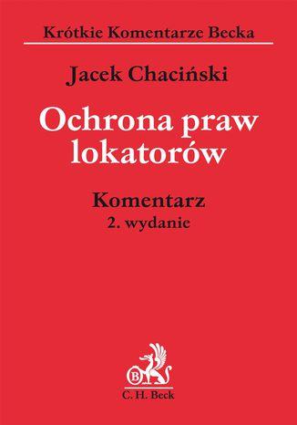 Okładka książki/ebooka Ochrona praw lokatorów. Komentarz