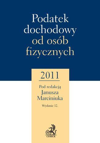 Okładka książki/ebooka Podatek dochodowy od osób fizycznych 2011