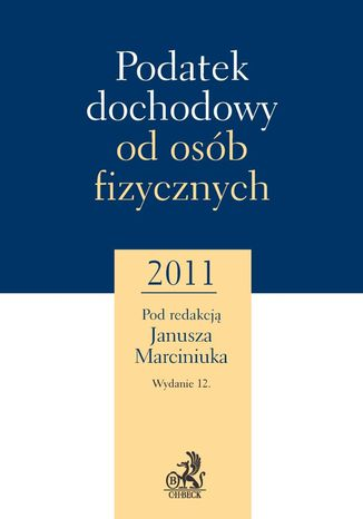 Okładka książki Podatek dochodowy od osób fizycznych 2011