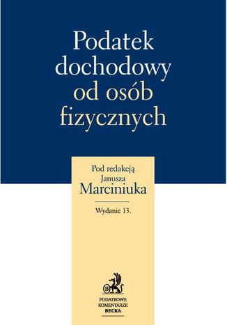 Okładka książki/ebooka Podatek dochodowy od osób fizycznych 2012