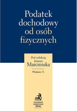Okładka książki Podatek dochodowy od osób fizycznych 2012