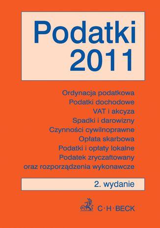 Okładka książki Podatki 2011 - format A4