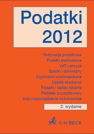 Okładka książki Podatki 2012