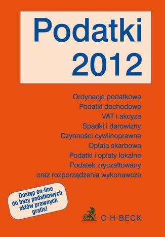 Okładka książki/ebooka Podatki 2012 - format A4