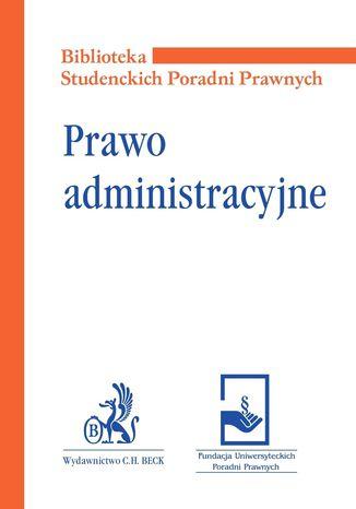 Okładka książki Prawo administracyjne