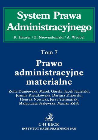 Okładka książki/ebooka Prawo administracyjne materialne. Tom 7