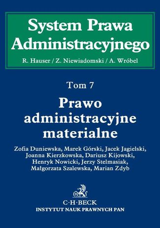 Okładka książki Prawo administracyjne materialne. Tom 7