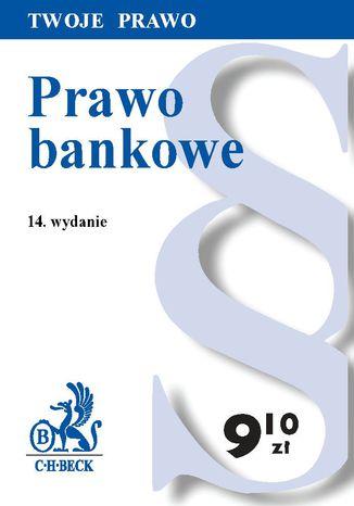 Okładka książki/ebooka Prawo bankowe