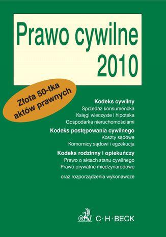Okładka książki/ebooka Prawo cywilne 2010