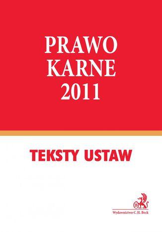Okładka książki Prawo karne 2011